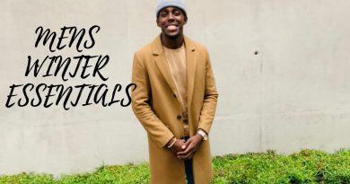 5 MEN'S WINTER ESSENTIALS | MEN'S FASHION | MEN'S LIFESTYLE