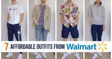 7 Budget Friendly Outfits   Walmart Shopping Haul   Mens Fashion