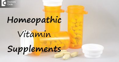 Are there vitamin supplements in homeopathy? - Dr. Surekha Tiwari