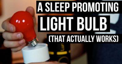 Blue Light Glasses Maker Creates Light Bulb for Sleep (new technology)