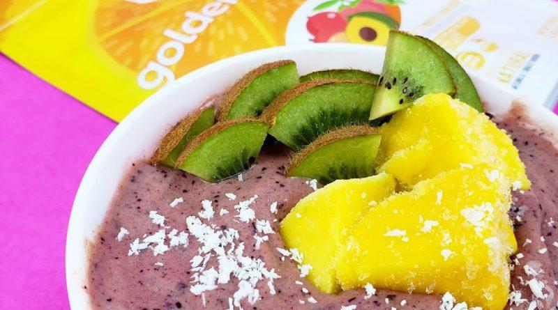 Blueberry Mango Superfood Smoothie - For Immunity & Antioxidants