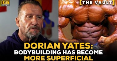 Dorian Yates: Bodybuilding Has Become More Superficial and Physique Quality Is Worse | GI Vault