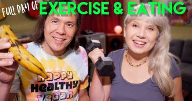 Full Day Of Exercise & Eating - Oil Free Vegan! & Giveaway!