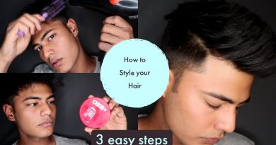 HOW TO STYLE YOUR HAIR IN 3 EASIEST STEPS II MEN'S LIFESTYLE II TRENDING HAIRSTYLE OF 2019