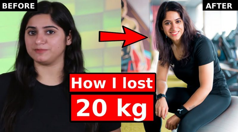 How I lost 20 kgs in 3 months ? Weight Loss transformation in Hindi by GunjanShouts