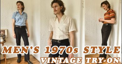 Men's Vintage Style Try On   1970s Inspired Looks