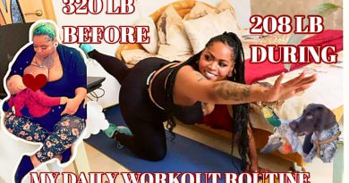 My Daily Workout Routine• 170lb Weight loss Journey