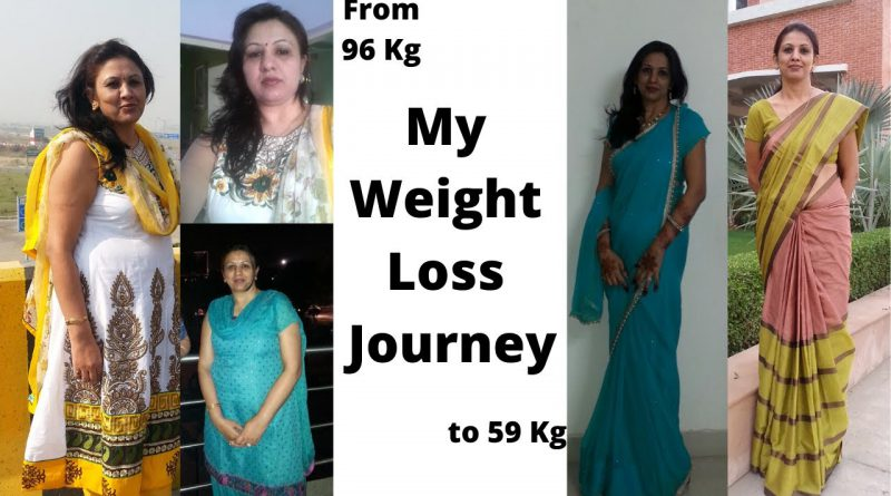 My Weight Loss Journey from 96 Kg to 59 Kg ||  || Got a Wonderful Friend