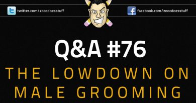 Q&A #76 - The Lowdown on Male Grooming