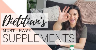SUPPLEMENTS FOR BEGINNERS   DIETITIAN APPROVED