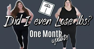Weigh In Wednesday |  One Month Update | Weight Loss Journey | Losing 200 lbs | April Lauren