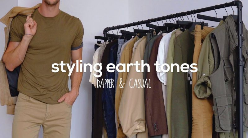 10 Outfits Styling Earth Tones | Men's Fashion Inspiration | Color Theory