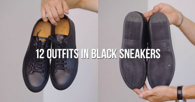 12 Ways to Style Black Sneakers | Men's Fashion | Outfit Ideas