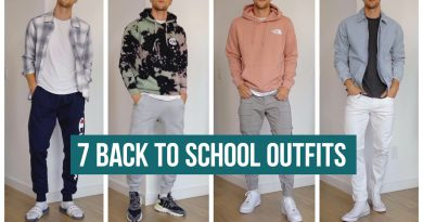 7 Back to School Outfits for 2020 | Men's Fashion | Outfit Inspiration
