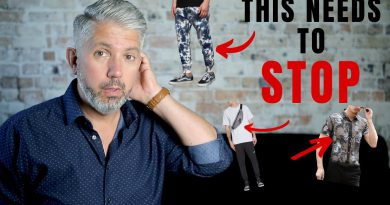 7 Men's Style Trends That Need To Stop | 40overfashion