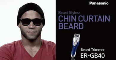 Chin Curtain Beard | Panasonic Men's Grooming Tips