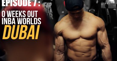 EPISODE 7: 0 weeks out INBA Natural Bodybuilding World Championships DUBAI 2015 - Rico van Huizen
