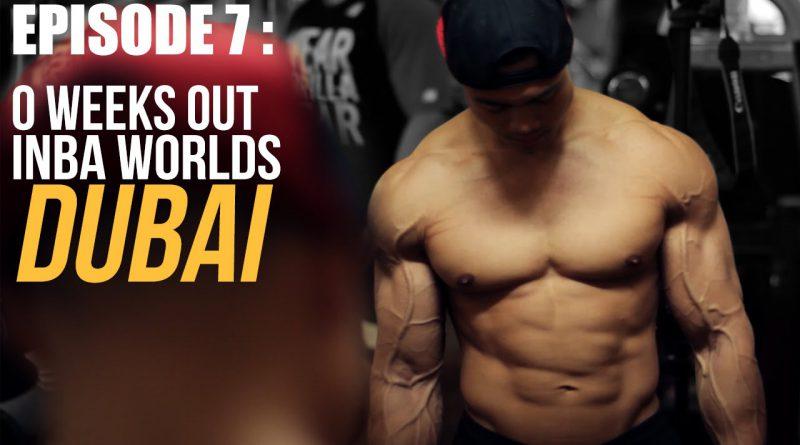 EPISODE 7: 0 weeks out INBA Natural Bodybuilding World Championships DUBAI 2015 - Rico van Huizen
