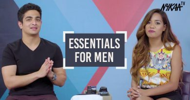 Grooming Essentials For Men Ft. Debasree Banerjee & Beer Biceps + Giveaway (Closed) | Nykaa