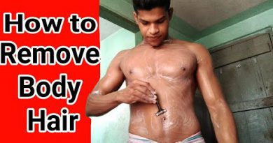 How To Remove Body Hair   Men's Grooming Routine