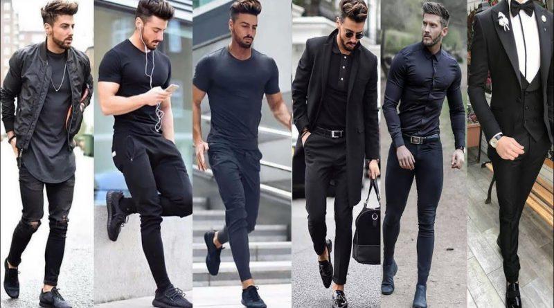 Latest Black Shirt Outfit ideas For Men's 2019 | Latest Men's Style 2020 | Men's Fashion 2020