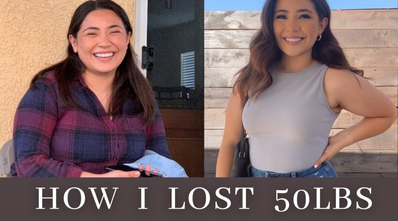MY WEIGHT-LOSS JOURNEY Q+A / HOW I LOST 50LBS ♡