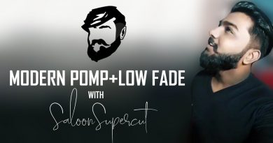 Modern Pomp+Low Fade | J.Krishan | Srilankan Men's Lifestyle | Men's Fashion | Saloon Supercut