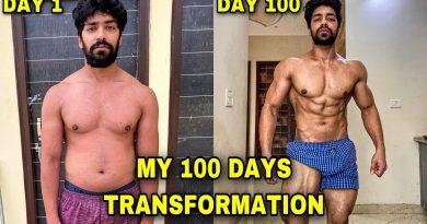 My 100 Days Incredible Body Transformation | Bodybuilding Motivation