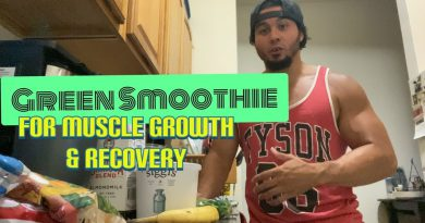 My Green Smoothie for Muscle Growth & Recovery   Eric Rivera