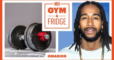 Omarion Shows His Gym & Fridge | Gym & Fridge | Men's Health