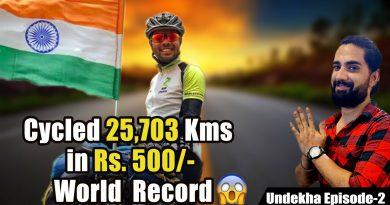 The Man Who Cycled Whole India in 250 Days | World Record Holder | Aftab Faridi | Undekha Ep 2