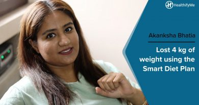 Transformation Stories | Akanksha's weight loss journey with the Smart Diet Plan | HealthifyMe