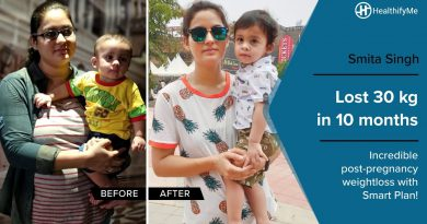 Transformation Stories | Smita's weight loss journey of 30 kg with Smart Plan| HealthifyMe
