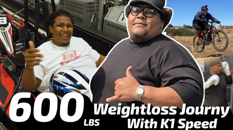 USING KART RACING TO LOSE WEIGHT?! | 600lbs Weight loss Journey with Go Karting!