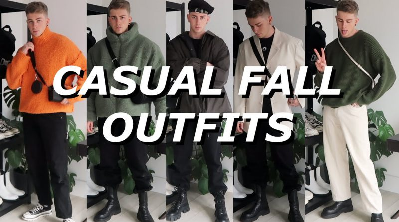 10 CASUAL OUTFIT IDEAS | Mens Style