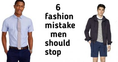 7 Fashion mistake that men should stop by mens lifestyle