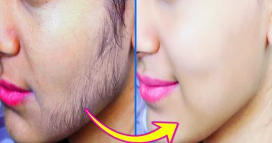 Best Way To Remove Facial Hair Permanently At Home Using Turmeric Powder