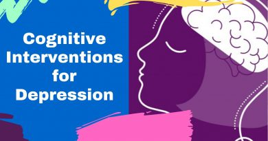 Cognitive Interventions for Depression & Anxiety Treatment | Depression quickstart guide