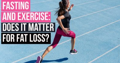 Fasted Exercise & Fat Loss: science review