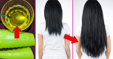 How To Make Aloe Vera Hair Oil For Hair Growth Fast, Stop Hair Loss And Regrow Lost Hair