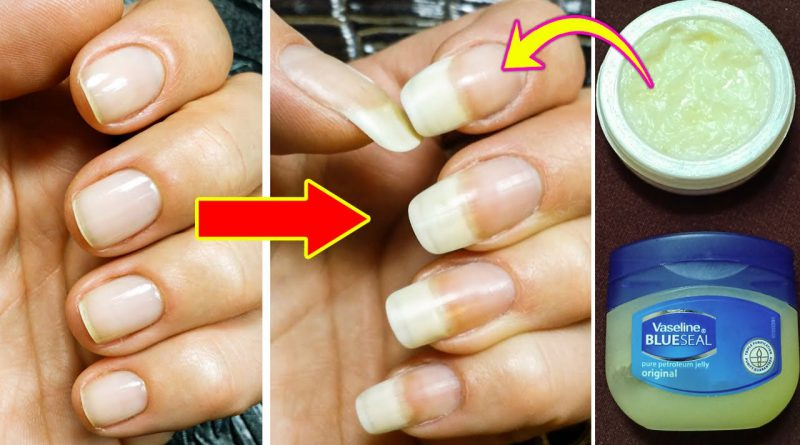 How To Make Your Nails Grow Faster And Stronger, Get Long And Strong Nails In A Week