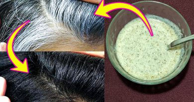How To Remove Gray Hair Permanently At Home / Turn Grey Hair Into Black Naturally