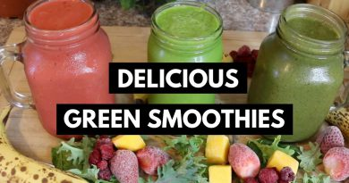 How to Make GREEN SMOOTHIES Taste Good! Delicious Nutrient Packed Smoothies for Summer