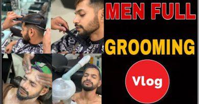 MEN'S GROOMING STORY | NAGPUR DAILY VLOGS | VLOG-28 | ANI RAY
