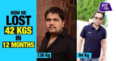 My Weight Loss Journey: Losing 42 Kgs in 12 Months | Fat To Fit | Fit Tak