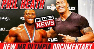 Phil Heath Mr Olympia Documentary by Dwayne Johnson (The Rock) + William Bonac 11 Weeks Out!