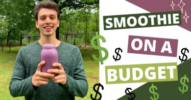 SUPERFOOD SMOOTHIE ON A BUDGET - JUST OVER €1,-!!