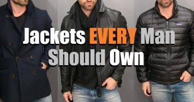 The ONLY 3 Jackets A Guy Needs In His Wardrobe! (Men's Style Essentials)