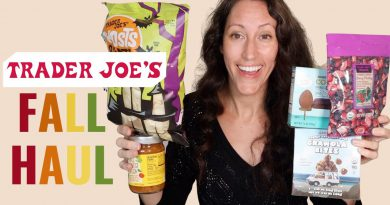 Trader Joes Fall Grocery Store Haul - Healthy Fall Finds | Yummy Goodies for Your & Your Family