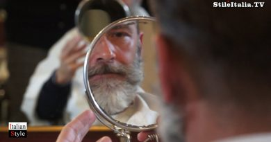 """Italian Gentleman""  - Trim & Shape Beard -  ""Barbieria Colla"" - ""Italian Men's Grooming"""